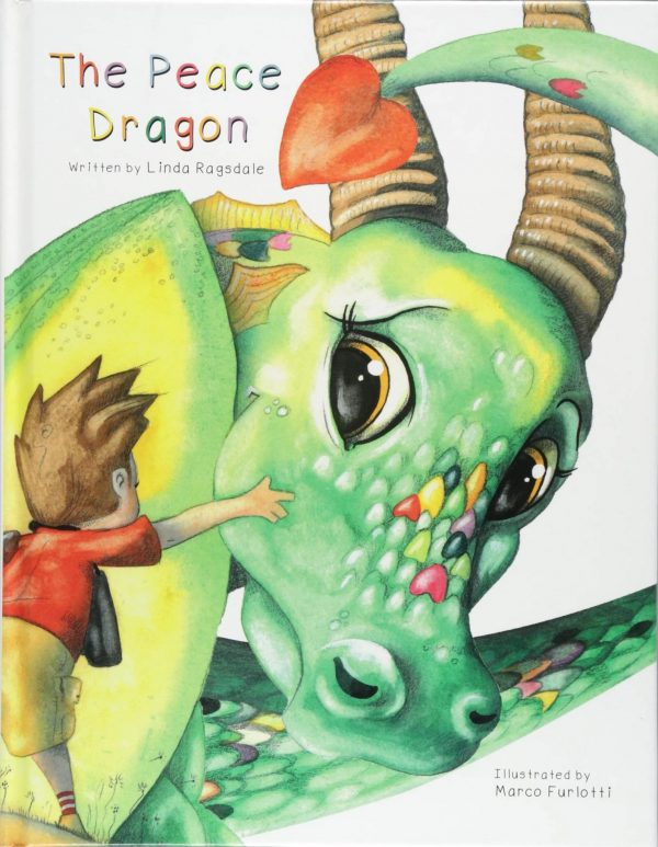 The Peace Dragon book cover: a story about accepting those who are different than we are.