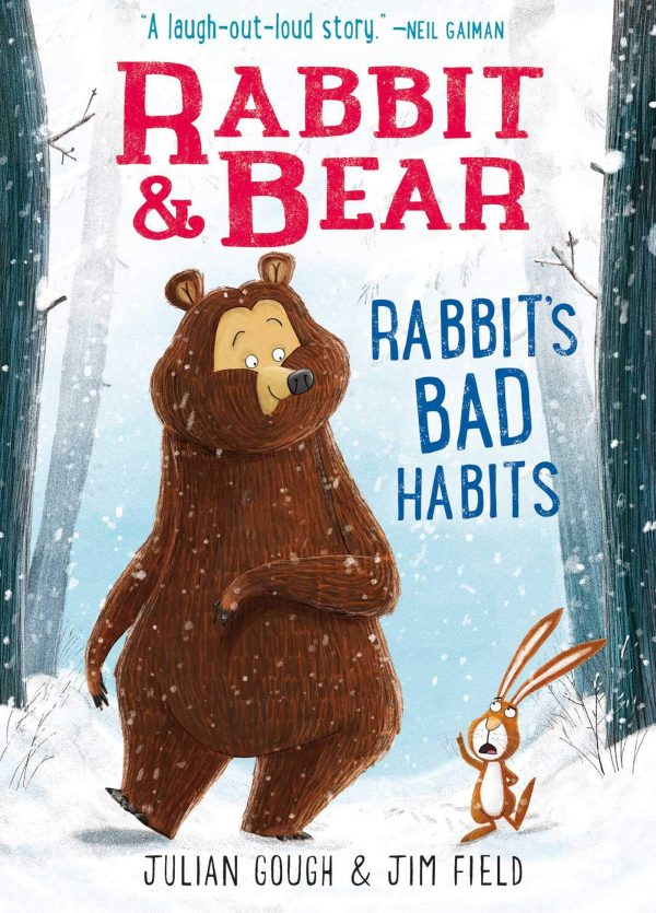 Rabbit's Bad Habits book cover. A funny story about kindness and friendship