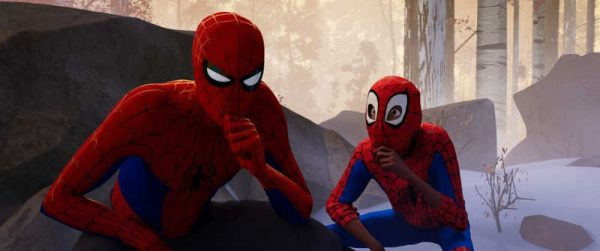 Spider-Man: Into The Spider-Verse Peter Parker and Miles Morales