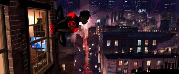 Miles Morales Into The Spider-Verse Concept Art