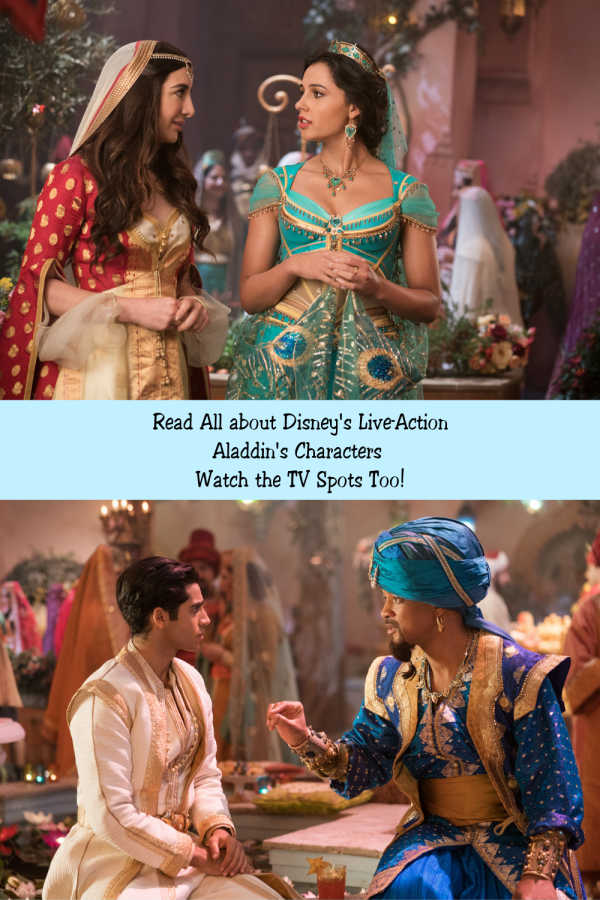 Read all about the characters in Aladdin and watch some fun TV spots!