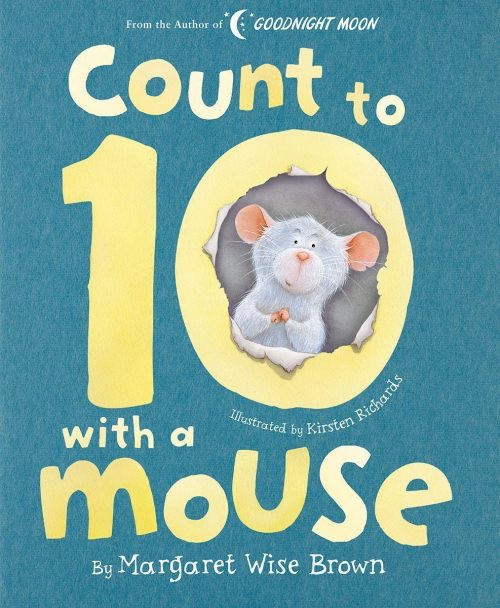 Count to 10 with a Mouse by Margaret Wise Brown Book Cover