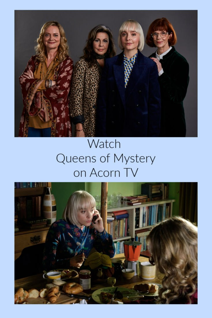 Watch Queens of Mystery only on Acorn TV