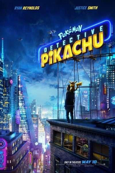 Movie Poster for Pokemon Detective Pikachu