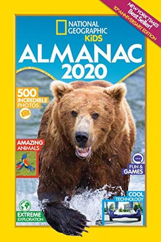 Cover of 2020 Kids Almanac from National Geographic