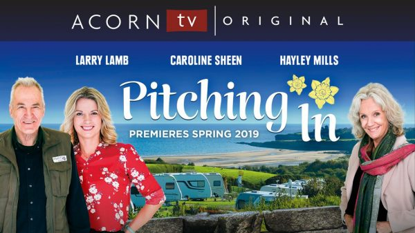Pitching In Starring Larry Lamb, Caroline Sheen and Hayley Mills