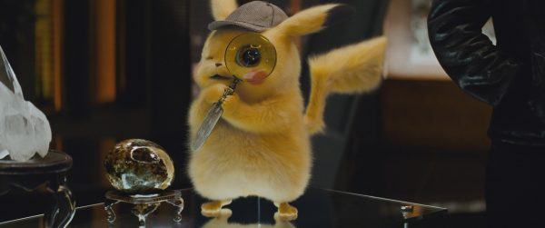 Pikachu with Magnifying Glass