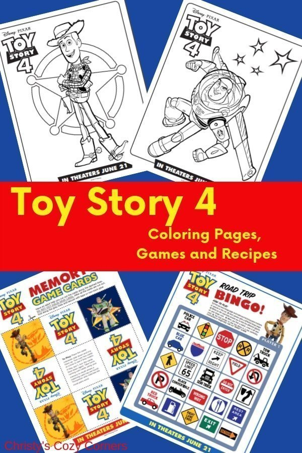 Toy Story 4 Coloring Pages Games Recipes And The Final