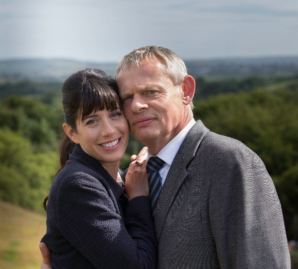 Louisa and Martin on Doc Martin Acorn TV fall 2019