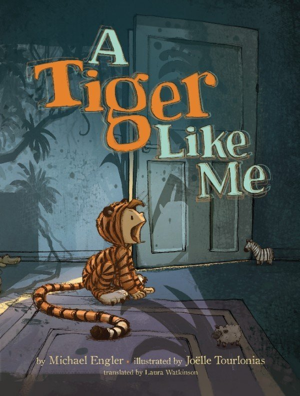 A Tiger Like Me Book Cover